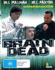 BRAIN DEAD (Bill PULLMAN & Bill PAXTON) HORROR Sci-Fi Movie DVD (NEW SEALED)