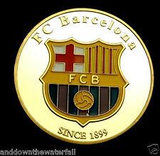 Lionel Messi FC Barcelona World Cup 2014 Gold Coin Argentina Legend Autograph UK