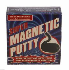Super Magnetic Black Silly Putty Magnet Gadget Novelty Sci Fi Science Gift Game