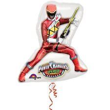 """Power Rangers Dino Charge Birthday Jumbo 28"""" inch SuperShape Helium Balloon"""
