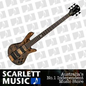 Spector NS Ethos 5 Electric Bass Guitar Super Faded Black Gloss