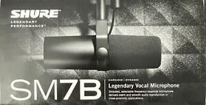 Shure SM7B Dynamisches Studiomikrofon - Gebraucht wie Neu mit OVP