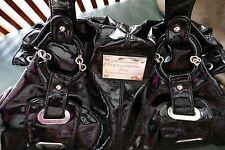 1ba1c822f5c DOLCE & GABBANA Black Patent Leather Purse Shoulder Bag Satchel Handbag Tote
