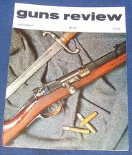 GUNS REVIEW MAGAZINE MAY 1975 - AIR PISTOLS/KALASHNIKOV ASSAULT RIFLE VARIANTS