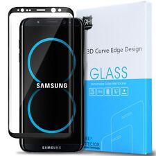 Samsung Galaxy S8 Plus Anti-Scratch Tempered Glass Screen Protector-Black