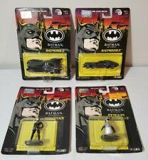 1992 ERTL BATMAN RETURNS Movie Batmobile Batmissile Penguin Catwoman NEW MOC