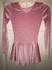 Worn Once Mondor Skating Dress Pink Glitter Size Yj