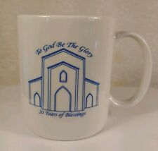 Precious Moments To God Be The Glory 20 Years Of Blessings Mug Chapel Exclusive