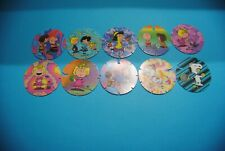 396 pogs pog caps milkcaps flippo : lot de 10 briliant frogs snoopy