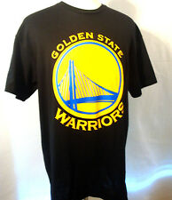 GOLDEN STATE WARRIOR NBA MEN'S**NEW SIZE MEDIUM**BLACK/YELLOW TEE SHIRT