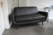 New MADE.COM Jonah 2 Seater Sofa, in Ale Brown Premium Leather