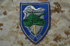 Z237 écusson insigne patch militaire 503e RCC Chars de Combat 1er Escadron