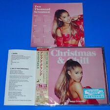 2016 ARIANA GRANDE CHRISTMAS & CHILL w/CALENDAR & BONUS TRACK FOR JAPAN ONLY