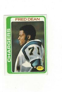 1978 Topps FRED DEAN #217 San Diego Chargers EX+