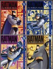 Batman The Animated Series Volume 1+2+3+4 Vol Region 4 DVD (16 Discs)