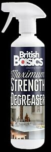 British Basics 500ml Maximum Strength Degreaser BB1 Grease Oil Remover  BB1