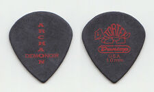 "1349 Idar ""Archaon"" Burheim Signature Black Teardrop Guitar Pick - 2010 Tour"