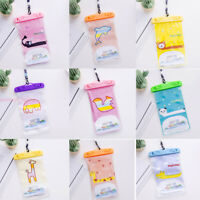 Waterproof Underwater Swim Pouch Dry Bag Case Cover For Cell Phone Mobile