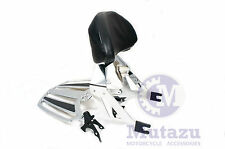 Detachable Backrest Sissy bar & Luggage Rack for Victory Cross Country Road