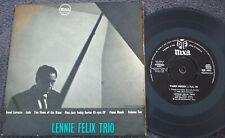 LENNIE FELIX TRIO 1957 PYE NIXA JAZZ EP Joe Meek FAIR ONLY BUT SLEEVE CLEAN