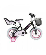 Hello Kitty bicicletta Romantic Black 12 pollici bici bambina 2-3 anni