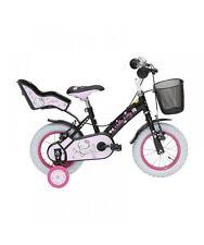 "Hello Kitty - bicicletta Romantic Black 12"" bici Bambina"