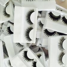 1pair Wholesale False Eyelashes Long Thick Fake Eye Lashes Set Mink Women Makeup