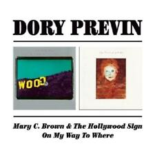 Dory Previn: MARY C. BROWN & THE HOLLYWOOD SIGN / ON MY WAY TO WHERE (2CD) Rem.