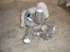 Keel Toys Mother And Baby Elephant Soft Toy