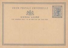 Sierra Leonean Victorian (1837-1901) Postal Stationery