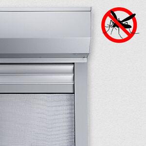 PVC Vorbaurolladen eckig auf Maß Rolladen mit Insektenschutzrollo Insektenschutz