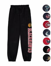 NHL Hockey Youth Critical Victory Majestic Fleece Sweat Pants