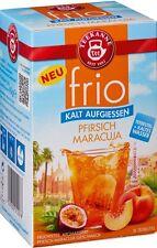 Teekanne FRIO Iced Tea: Peach Passion Fruit - 18 tea bags- Made in Germany