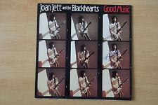 "Joan Jett Autogramm signed LP-Cover ""Good Music"" Vinyl"