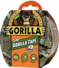 Gorilla Camo Tape Strong Adhesive Duct Tape 8m Matt Finish Weather Resistant UK
