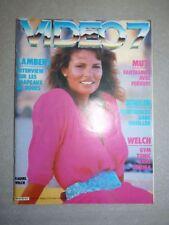 Magazine revue VIDEO 7 #45 mai 1985 Raquel Welch Ornella Muti