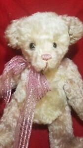 "Betzie Smith ""Mavis: OOAK artist teddy bear mohair 13"" Whimzical Bearz"