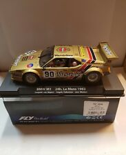 qq FLY 88346  BMW M1 #90 24H. LE MANS 1983 L.VON BAYERN-A.PALLAVICINI-J.WINTHER