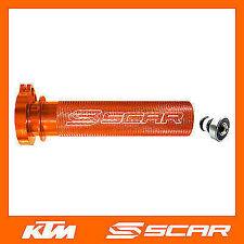 POIGNEE DE GAZ ACCELERATEUR ALU ROULEMENT KTM EXCF EXC-F 250 350 450 00-16 SCAR