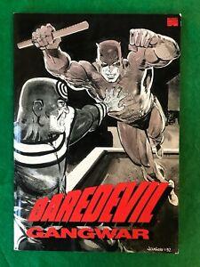 Daredevil: Gangwar TPB Book Frank Miller 1st Print 1992 Marvel Comics (T 3064)