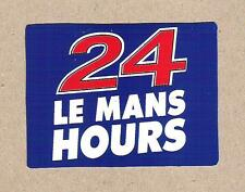24 Hours Le Mans Sticker, Sports Car Racing Decal