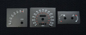 Replacement Black Dials For Ford Escort Mk4