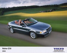 Volvo C70 Convertible Large Format Period Press Photograph - 2004