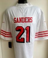Deion Sanders San Francisco 49ers Autographed Signed Nike Jersey PSA/DNA COA XL
