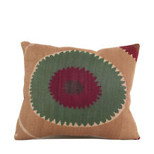 """15"""" x 17"""" Pillow Cover Suzani Pillow Cover Vintage FAST Shipment With UPS 10062"""