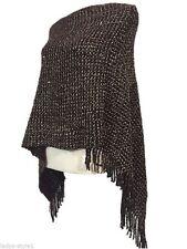 3/4 Arm Damen-Pullover & -Strickware im Ponchos-Stil aus Acryl