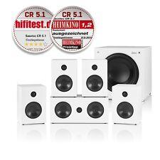 Saxx curvedSOUND CR 5.1 Surround-Set weiß/Setpreis