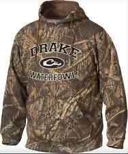 Drake Waterfowl Embroidered Hoodie Color Shadow Branch DW2240 Mens Size SMALL