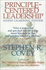 Principle-Centered Leadership Stephen Covey Audiobook on Cassette
