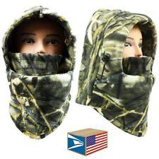 EXTREME FLEECE BALACLAVA SKI MASK Real Tree Camouflage FACE HAT CAP NECK HOOD!
